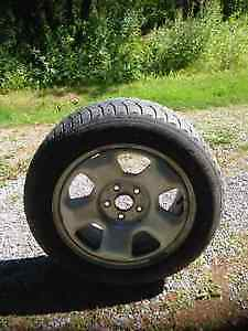 Michelin Snow Tires with Rims 225 55 R17