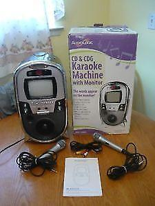 Karaoke with monitor Audiologic ALKR613 ,Brand New ( never used)