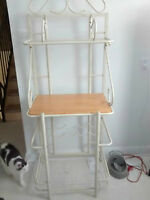 Baker's Rack/ Microwave Stand with Wine Rack