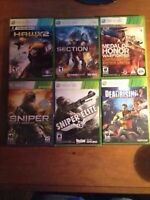 Xbox 360 games all ages! Take all for $30!