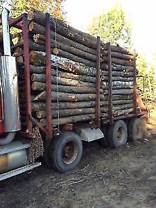 $155 8ft logs & split firewood hardwood 902-401-7346