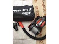 Black and Decker Flexi Auto car vacuum