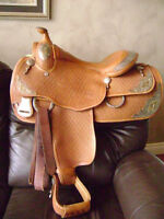 "15.5"" Georgeous ""Kathy's"" Show Saddle'  Motivated Seller"