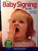 The Baby Signing Book (2nd edition) and set of 35 flash cards