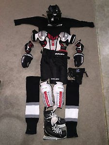 Youth Hockey complete set with skates and helmet
