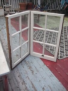 """2 matching antique """"Newport""""style 6panel Windows:Fab 4 Projects"""