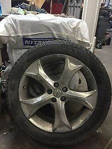 4 20 inch venza rims with tires