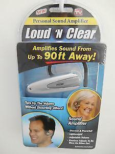 Tv Sound Amplifier Ebay