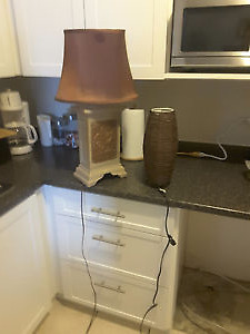 Bamboo Lamp/Stone Lamp/ Double slow cooker