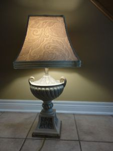 TABLE LAMP WITH TROPHY DESIGN BASE -$75 FIRM London Ontario image 2