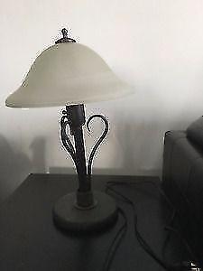 Nice side metal lamps