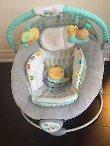 Taggies vibrating musical bouncy chair