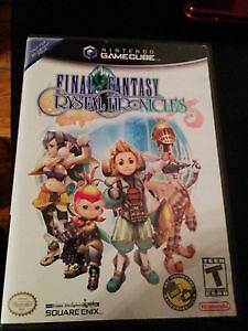 Final Fantasy Crystal Chronicles avec guide