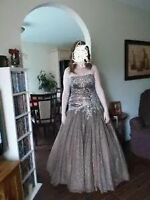 Size 14 brown prom dress
