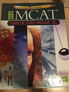 ExamKrackers MCAT COMPLETE Study Package Brand New 9th edition