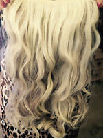 Clip in hair extension for full head 20 inches