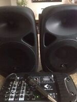 Speakers pré-amplifiés
