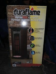 NEW!!! Duraflame Tower Electric Space Heater- with remote Kitchener / Waterloo Kitchener Area image 2