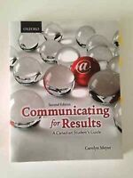 Communicating for Results 2nd edition(CMN 279)