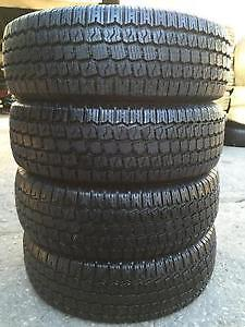 set of 4 winter tires 215 65 R 16 winter king with 80%