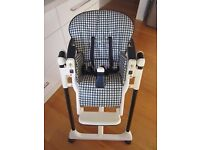 MAMAS & PAPA'S BABY CHILD FEEDING HIGH CHAIR SEAT 0-3 YEARS COMPACT WHEN FOLDED CAN STAND ALONE