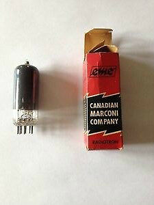 Vintage Canadian Marconi Radiotron Tube 12BY7A