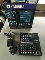 Console / Mixer Yamaha MG102c 8 entrées totales -- 135 $