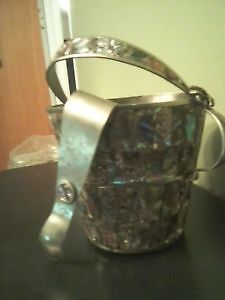 Mother of Pearl Ice Bucket & Thon St. John's Newfoundland image 1