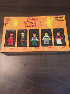 LEGO VINTAGE MINIFIG COLLECTION Vol. 1, 2012, UNOPENED!