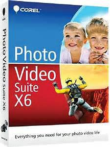 Corel Photo Video Suite X6 by Corel - NEW SEALED