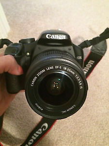 Camera rebel EOS XS DSLR ,Modl # canon ds126181 , $310 only