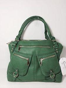 9c4cee8664 Jessica Simpson Green Handbags