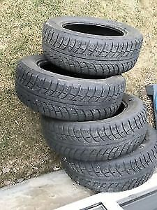 Gislave winter tires (no rims) size:205/55R16