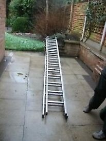 Youngmans DIY Alumininum two section extension ladders