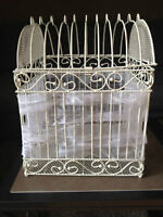 Bird Cage and Flameless Candles for Rent
