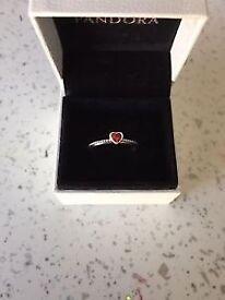 Pandora Delicate Heart Ring