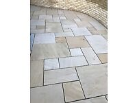 Reclaimed Sandstone paving flags
