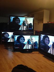 PLUSIEURS TV  A VENDRE en lots