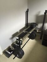 Bench Press with 125lbs of weights