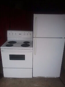 STOVE $120 and FRIDGE $120 for SALE!!!!!
