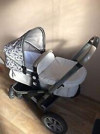 Mothercare pram travel set