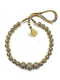 Women's State T Necklace Gold Nugget Choker Festive Jewelry, Christmas Gift 9""