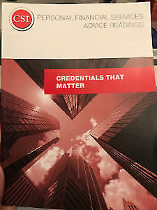 Canadian Securities Institute Books