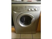 65 Indesit WIDL126S 1200 Spin Silver Sensor Washer/Dryer 1 YEAR GUARANTEE FREE DEL N FIT