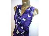 Jacques Vert Dress in a striking purple. Size 18