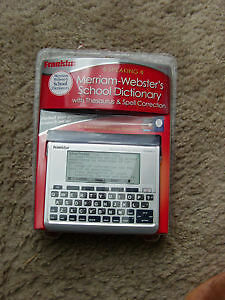 Brand new marriam webster,SHARP and Franklin Dictionary for sale