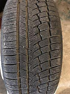 4 winter tires 245/40r19 Zeetex 1 winter used only