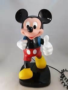 Vintage Mickey Mouse Telephone