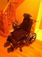 XX Large Reclining Wheelchair.