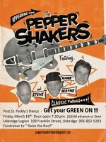 Hey Uxbridge - your chance to see the Pepper Shakers tonight!
